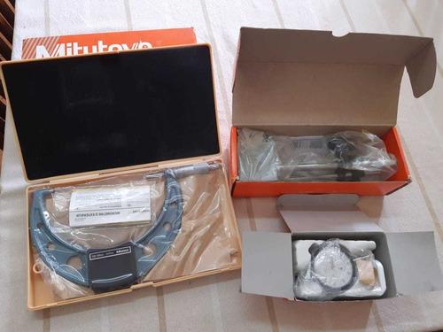 micrometro y reloj comparador