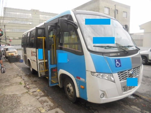 microônibus - marcopolo - volare - agrale - ano 2014