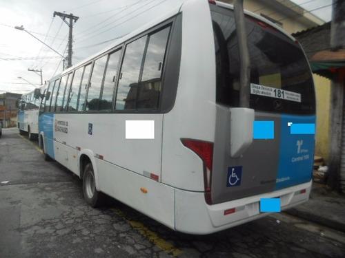 microônibus - marcopolo - volare - agrale - ano 2014/15