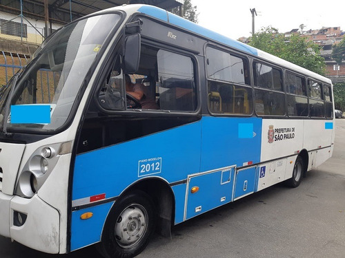 microônibus - mercêdes - 915-c - caio foz - ano 2012  .