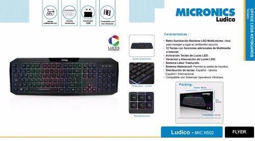 micronics teclado mic multimedia