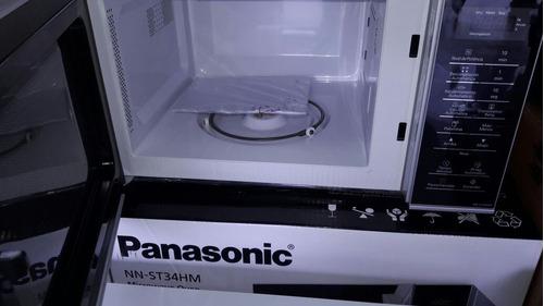 microonda panasonic modelo nn-st34hm (0.9pie³) nueva en caja