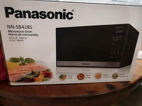 microonda panasonic®  nn-sb428sruh (0.9 p³) nueva en caja
