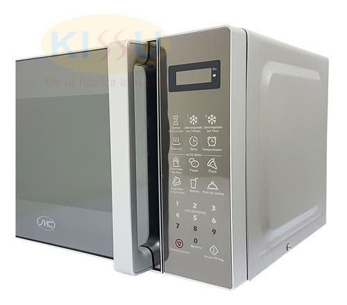 microondas 0.7 pies 20lt panel touch tapa tipo espejo