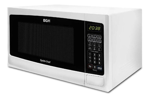 microondas bgh 28l con grill 1150w digital