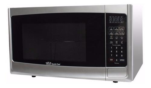 microondas bgh b223de 23 litros gris 800w grill - selectogar