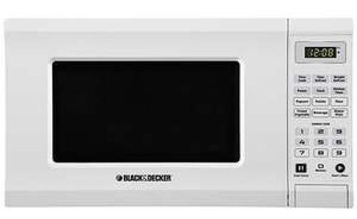 microondas de 20 litros black&decker garantía tienda física