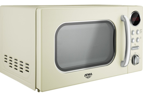 microondas digital vintage 20 litros atma md1820vn ahora 12