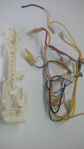 microondas lg cables originales   con su base