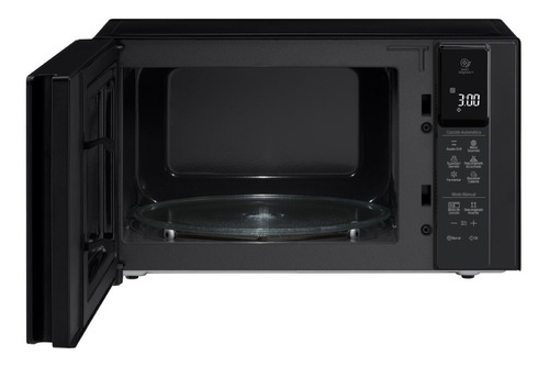 microondas lg mh8298 inverter 42 lts 1200 w espejado touch