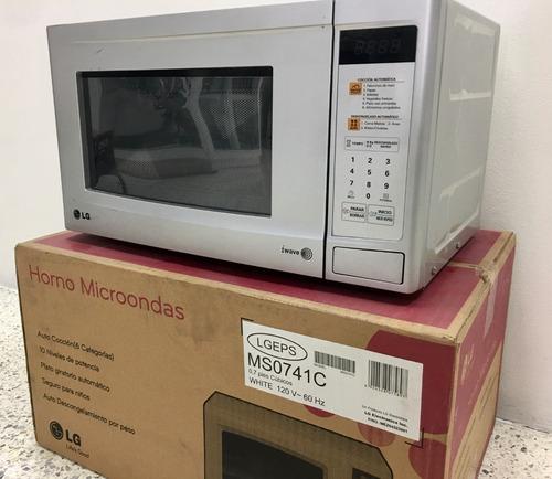 microondas lg modelo ms0741c - tienda fisica