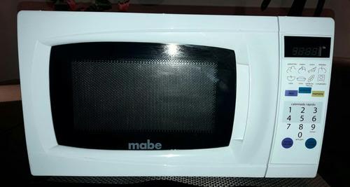 microondas mabe, blanco usado