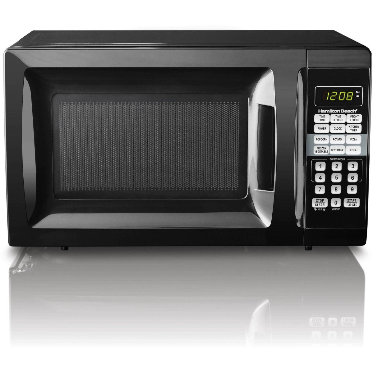 Microondas Mainstays 0 7cu Ft 700w Negro Reacondicionado