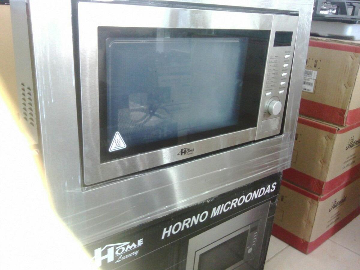 Microondas para empotrar home luxury 23 litros marco nuevo bs en mercado libre - Microondas de empotrar ...