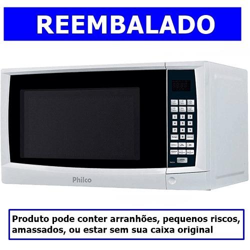 094289afc Microondas Philco Pms24 20 Litros Com Tecla Kids Branco 220v - R ...