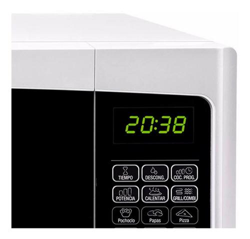 microondas quick chef 28 l bgh b228db9 900w grill blanco