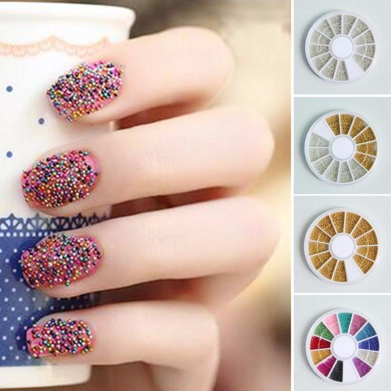 Lujo Microperlas Para Las Uñas Friso - Ideas de Diseño de Arte de ...