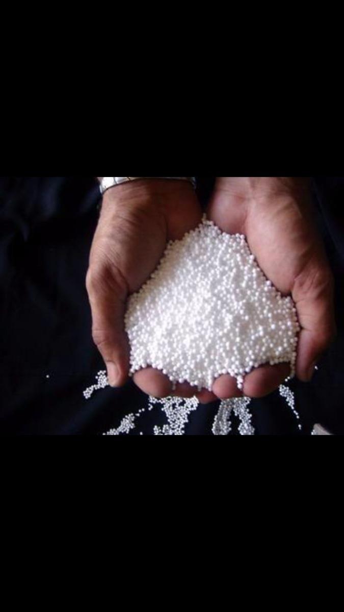 132d3a4c370d07 Micropérola De Isopor - Enchimento De Almofadas Tipo Fom 1kg