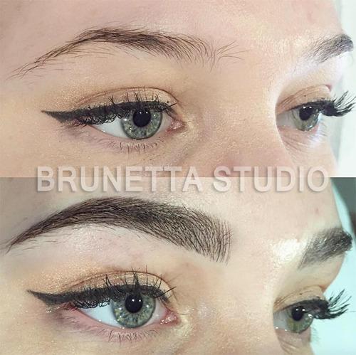 micropigmentación de cejas ojos labios maquillaje permanente