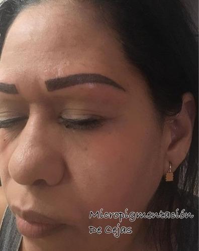 micropigmentación y microblading de cejas