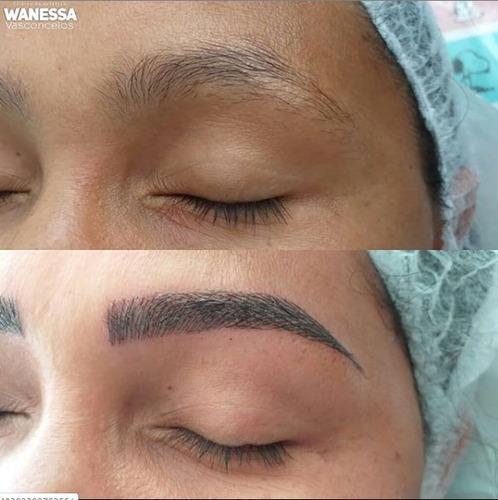 micropigmentação de sobrancelhas fio a fio maceió