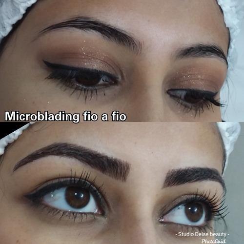micropigmentação e alongamento de cílios