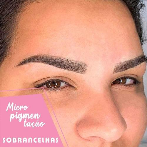 micropigmentação sobrancelhas, olhos e lábios