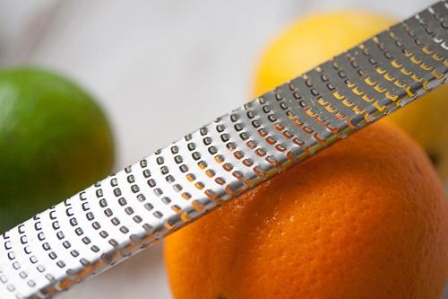 microplane rallador/acanalador de frutas serie clásica cu745