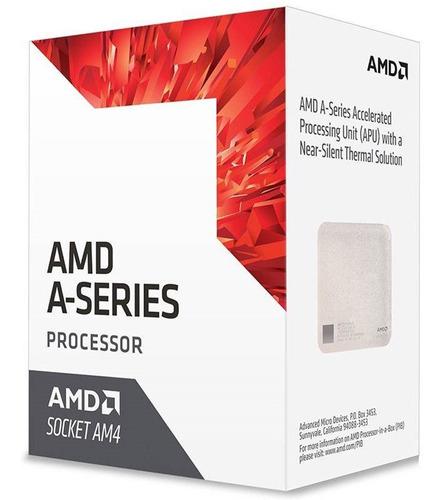 microprocesador amd apu a10 9700 socket am4 amv