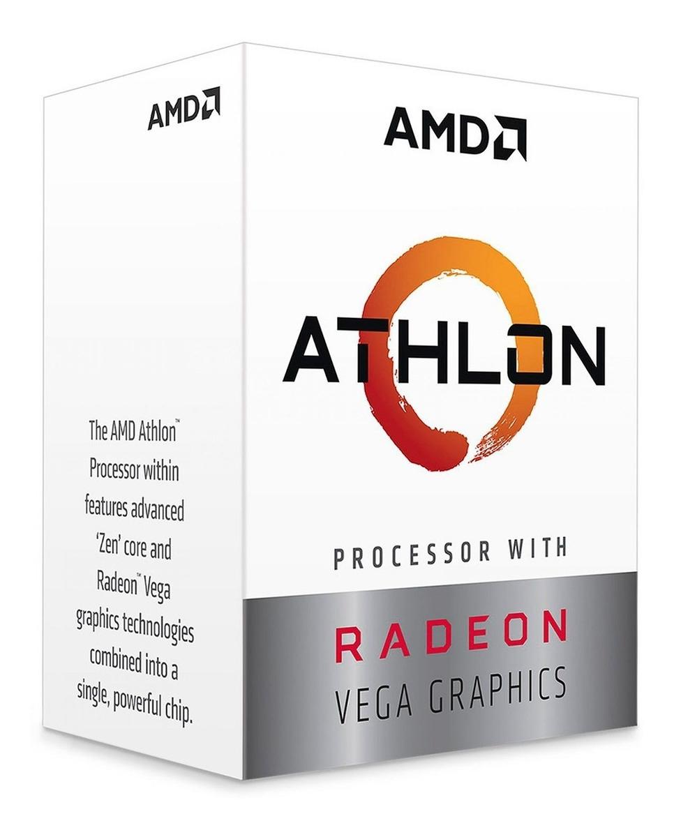 AMD ATHLON 3000G 3.5GHZ AM4 (YD3000C6FHBOX)