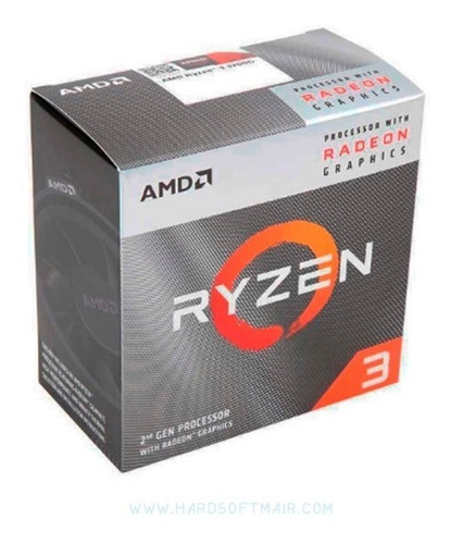 microprocesador amd ryzen 3 3200g vega 8 am4