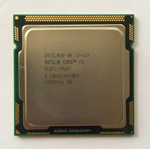 microprocesador i5-650 lga 1156