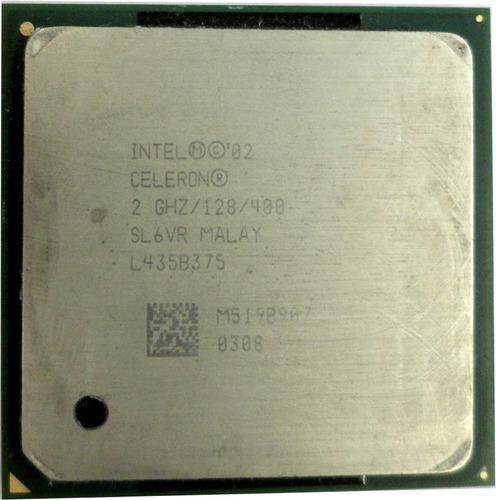 microprocesador intel celeron 2.0 ghz 128/400 (usado) e8052