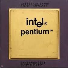 microprocesadores, antiguos, quemados, malogrados o rotos