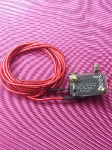 microruptor chave fim de curso haste com rolete 16a, 125-250