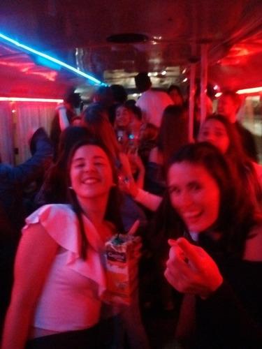 micros a boliches fiestas recitales cumples no party bus
