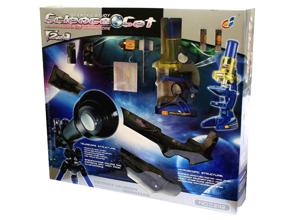 b6d8861756 Microscopio 450x + Telescopio Escolar 40x Ideal Estudiantes - $ 769 ...