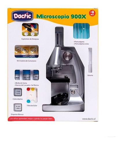 microscopio 900x dactic - envío gratis