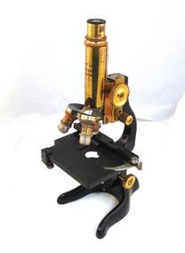 ddee3eeb7b Microscopio Antiguo, Alemán, Coleccion Vintage