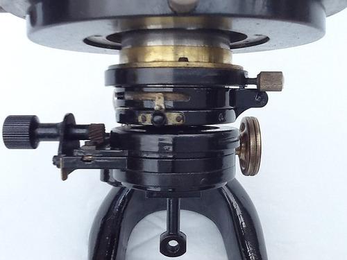 microscopio antiguo w klein - wetzlar