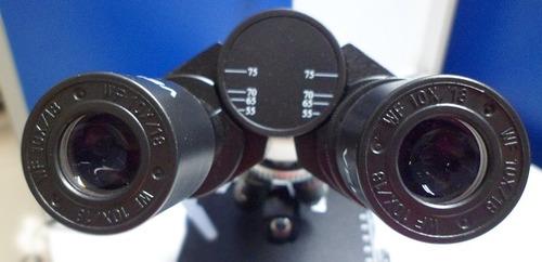 microscopio  binocular biológico estudiantil ve-b1
