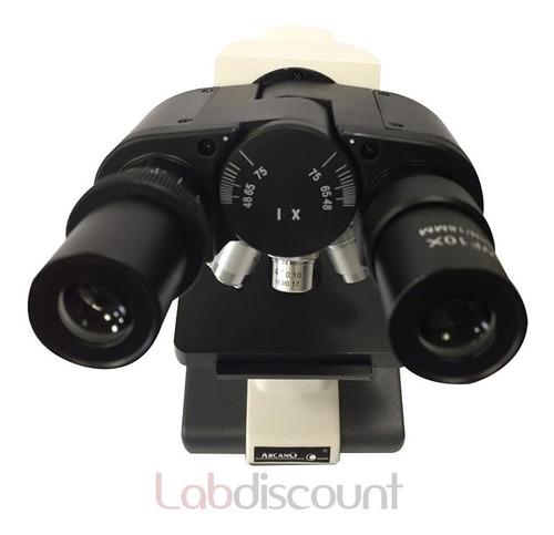 microscopio binocular  xsz 100 bn con luz led