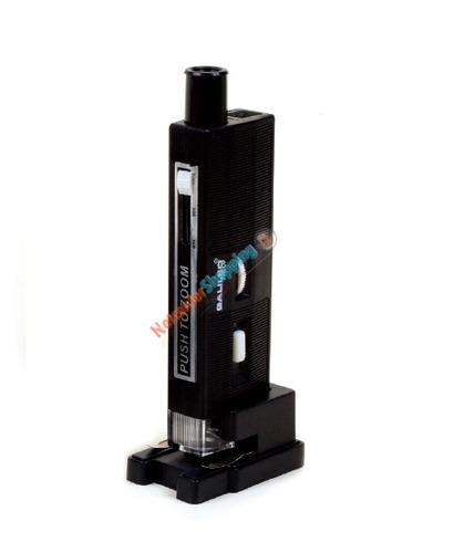 microscopio bolsillo luz enfocador 60/80/100x portaobjeto
