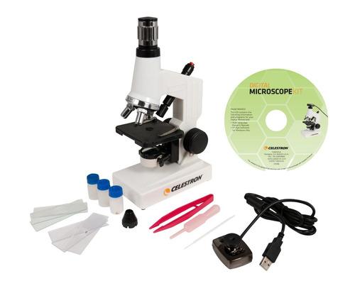 microscopio celestron 44320 microscope digital kit