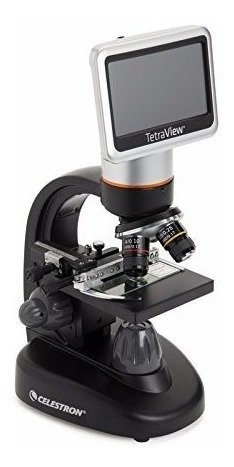 microscopio celestron 44347 tetraview lcd digital 5mp cmos