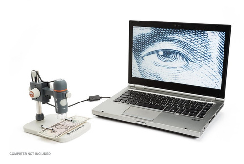 microscopio celestron 5 mp digital, de mano