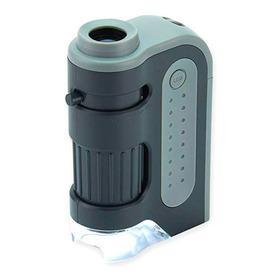 Microscópio De Bolso Microbriteplus Com Led, 60x - 120x