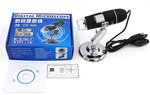 microscopio digital 20x800x cámara de la lupa