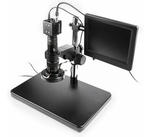 microscopio digital full hd con pantalla y luz baku ba 002