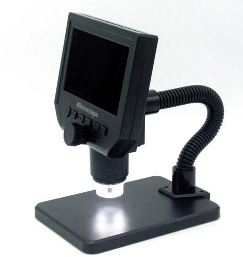 microscopio  digital lcd 4.3 video lupa hd endoscopio